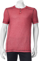 Helix Big & Tall Burnout Henley