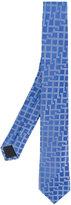 Versace embroidered tie