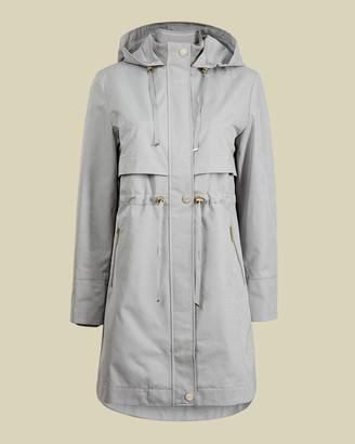 Ted Baker SAMEERR Drawstring mac coat