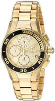 Technomarine Women's 'Manta' Quartz and Stainless Steel Casual Watch, Color:Gold-Toned (Model: TM-215050)