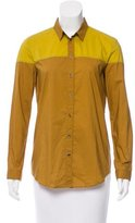 Burberry Colorblock Woven Shirt
