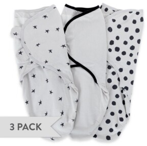 Ely's & Co. Adjustable Swaddle Small 0-3 Months 3 Pack