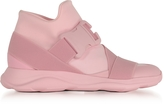 Christopher Kane Pink Neoprene High Top Women's Sneakers