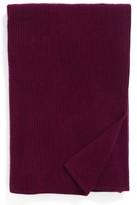 Nordstrom Lattice Cashmere Throw Blanket