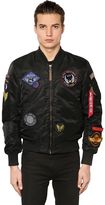 Alpha Industries Ma-1 Vf Slim Bomber Jacket W/ Patches