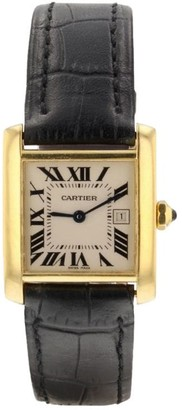 Cartier 2010 pre-owned Tank Francaise 20mm
