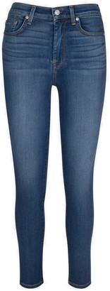 Seven London Slim Illusion High Waist Ankle Jeans