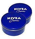 Nivea Genuine Authentic German Cream 13.54 Oz. / 400ml Metal Tin - Made in Germany & Imported From Germany! (2 pack)