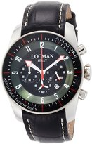 Locman watch Avia Torre pilot watch quartz chronograph men's 0450 045000BKFWRGPSK Men's [regular imported goods]