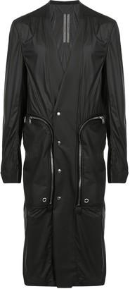 Rick Owens Zipped Long-Line Jacket