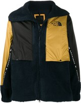 The North Face panelled logo padded jacket
