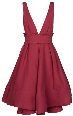 Brock Collection Quesyn linen minidress