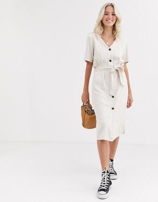 JDY Sierra button through dress