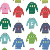 Fringe Whimsy Sweaters Gift Wrap