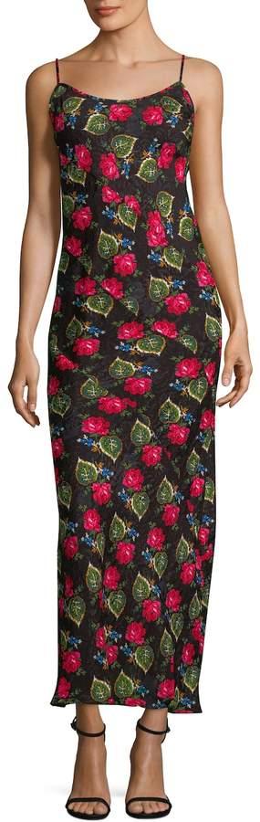 Anna Sui Women's Floral Long Dress