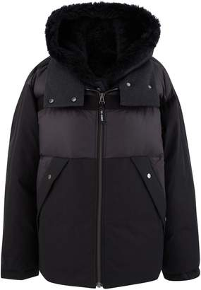 Yves Salomon Army By Short coat