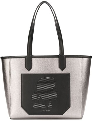 Karl Lagerfeld Paris Colour Block Shopper Tote