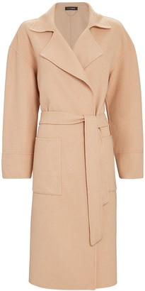 Intermix Janette Wool-Blend Wrap Coat