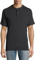 Ovadia & Sons Short-Sleeve Jersey Henley T-Shirt