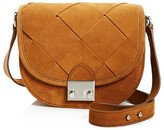 Loeffler Randall Woven Suede Saddle Bag - 100% Bloomingdale's Exclusive