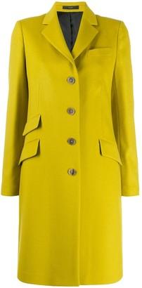 Paul Smith single-breasted midi coat