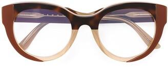 Marni Tortoise Shell Detail Glasses
