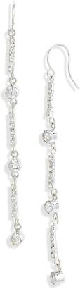 CRISTABELLE Crystal Station Linear Earrings