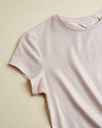 Ted Baker Shimmer Fitted T-shirt