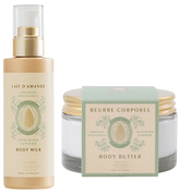 Sweet Almond Body Milk and Body Butter Duo