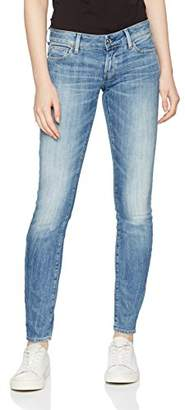 G Star Women's 3301 Deconstructed Low Waist Skinny Jeans,33W / 32L