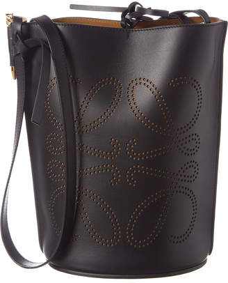 Loewe Gate Anagram Leather Bucket Bag