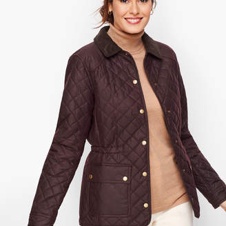 Talbots Barbour Quilted Penshaw Jacket