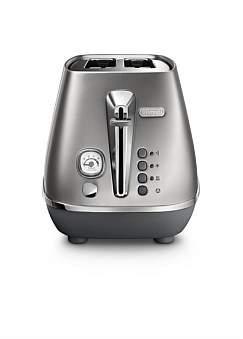 De'Longhi Delonghi Cti2003S Distinta Flair 2 Slice Toaster - Silver
