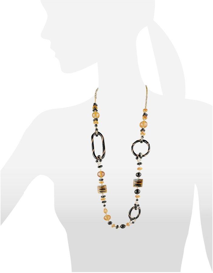Antica Murrina Veneziana Bolero - Murano Glass Long Necklace