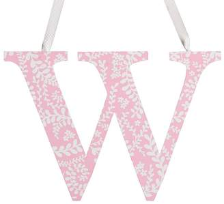 Pottery Barn Kids Printed Letter - W