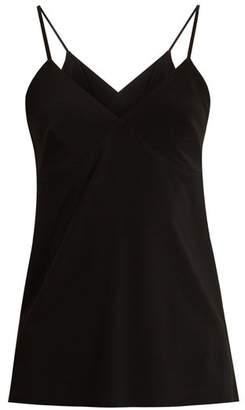 Norma Kamali V-neck Jersey Tank Top - Womens - Black