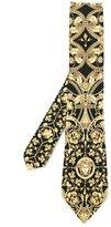Versace Signature print tie