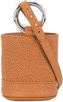 Simon Miller Mini Grained Brown Bonsai 15 bucket bag - women - Leather/metal - One Size