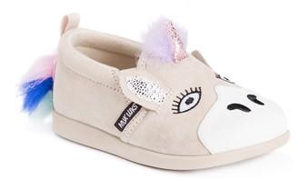 Muk Luks Girls Luna The Unicorn Shoes Sneaker