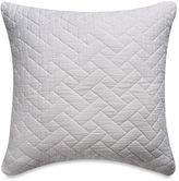Bellora Luxury Italian-Made Mia Square Throw Pillow in White