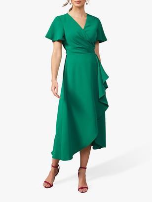 Phase Eight Fiorella Midi Dress, Apple Green