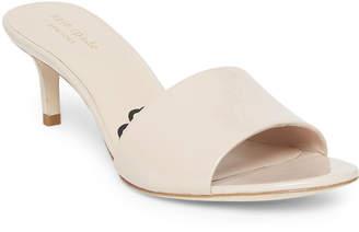 Kate Spade Savvi Patent Slide Sandals