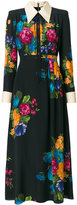 Gucci floral print shirt dress