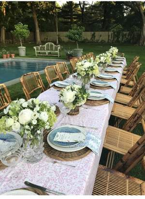 India Amory New - Petal Paisley Tablecloth