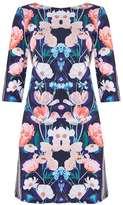 Wallis Petite Navy Floral Tunic Dress