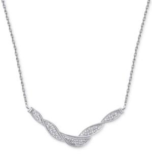 Townsend Victoria Diamond Swirl Collar Necklace (1/4 ct. t.w.)