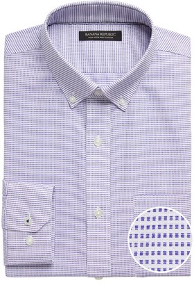 Banana Republic Standard-Fit Non-Iron Dress Shirt with Button-Down Collar