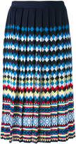 Mary Katrantzou Aura pleated skirt
