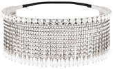 Miu Miu crystal embellished fringed headband