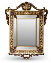 Jay Strongwater Laurent Arabesque Wall Mirror